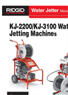 KJ-3100 - Water Jetting Machines Brochure