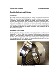 Double Spline-Lock Fittings Brochure