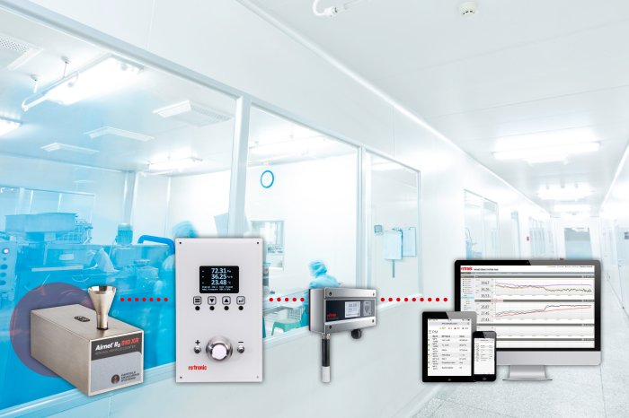 Rotronic Provides Cleanroom Particle Monitoring