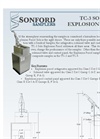3. Sonford TC-3 Solo Explosion Proof Cutsheet