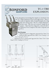 5. Sonford TC-3 Triple Explosion Proof Cutsheet