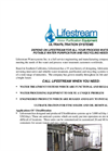 Ultrafiltration Systems – Specifications