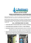 Microfiltration Systems Brochure