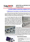 Coarse Bubble - High Rate Mixing and Aeration Systems – Brochure