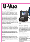 Model U-Vue - Color Push Camera Inspection System Brochure