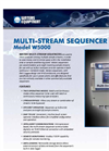 Model W5000 - Multi-Stream Sequencer Brochure