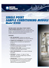 Model W3100 - Single Point Sample Conditioning Modules Brochure
