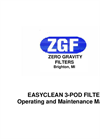 3-Pod EasyClean EC100-3 Operations Manual - Brochure
