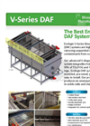 Ecologix V-Series Dissolved Air Flotation (DAF) Systems Brochure