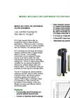 Model NCO Bag Or Cartridge Filter Housing Brochure (PDF 694 KB)