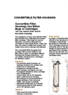 Covertible Filter Housings Specifications & Nomenclature (PDF 1.103 MB)