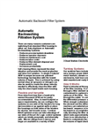 Automatic Backwashing Filtration System - Specifications & Nomenclature (PDF 1.398 MB)