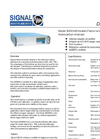 Model 3000HM - Full Automatic Microprocessor Heated THC Analyser Datasheet