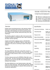 Model 4000VM - Heated Vacuum CLD NOx Analyser Datasheet