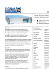 Signal - Model 3000MO - Heated Methane Only Analyser - Datasheet