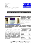 Signal - Model 7000SB - Infra-red Analyser - Brochure