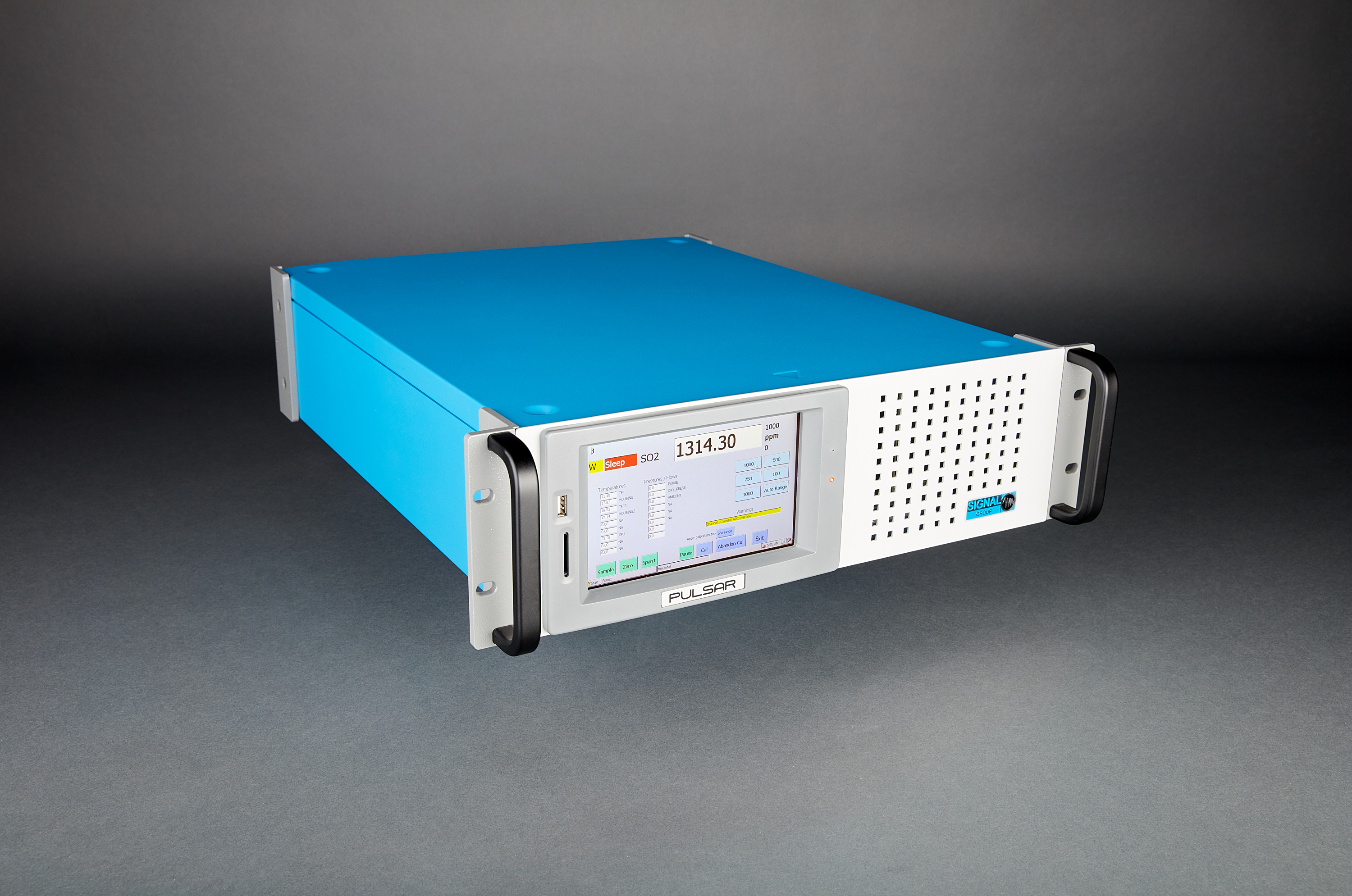 Signal Group  - Model Series IV Pulsar  - Non-Dispersive Infra-red (NDIR) Gas Analyser