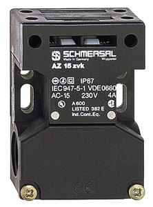 Schmersal - Model AZ 15 ZVRK - Safety Switch with Separate Actuator