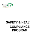 Safety & Health Compliance Program- Brochure