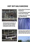 Barber - Hot Dip Galvanizing - Brochure