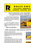 Rockland Beach King II Spec Sheet