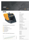 HARTL - HBC 950 - Crusher - Brochure