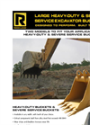 Rockland - Model HD (110K+ LB) - Heavy Duty Excavator Buckets  Brochure