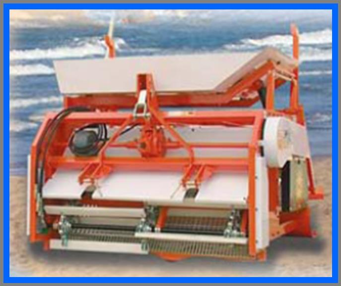 ORCA - Compact 3 Point Linkage Sand Screening Machine