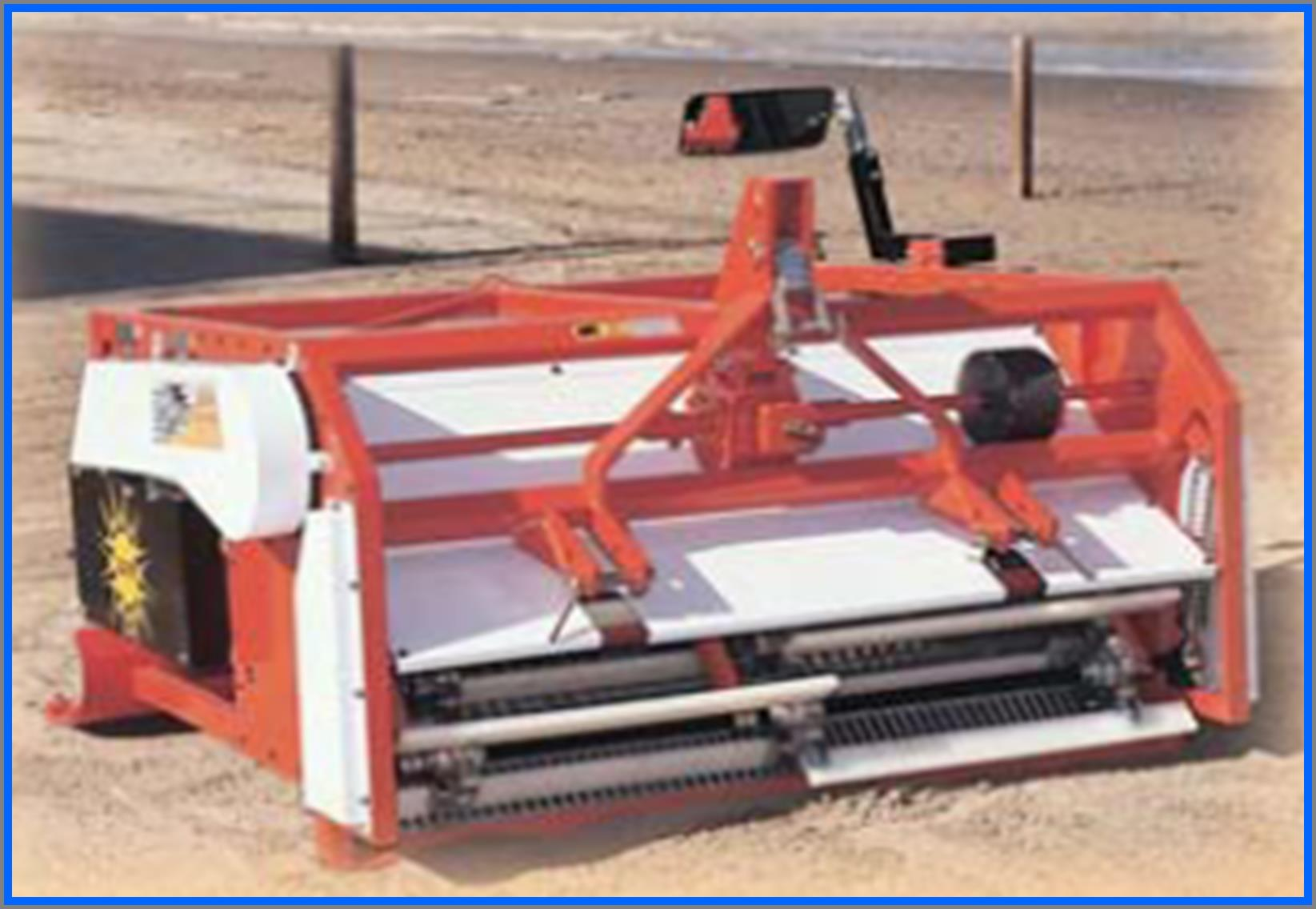 Compact 3 Point Linkage Sand Screening Machine-1