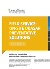 On-Site Quasar Preventative Solution Brochure