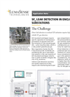 Application Note - SF6 Leak Detection in Enclosed GIS Substation