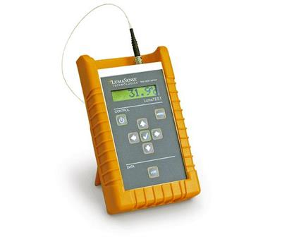LumaTEST - Handheld Monitor for Gallium Arsenide-Based Fiber Optic Temperature Sensor