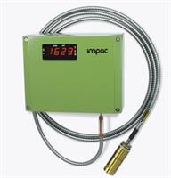 LumaSense IMPAC - Model ISR 12-LO - Digital 2-color Pyrometer with Fiber Optic for Non-contact Temperature Measurement