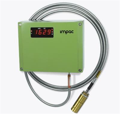LumaSense IMPAC - Model IGAR 12-LO - Digital 2-color Pyrometer with Fibre Optic for Non-contact Temperature Measurement