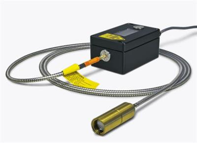 LumaSense IMPAC - Model IS 50-AL-LO plus - Pyrometer with Fiber Optics for Non-contact Measurements
