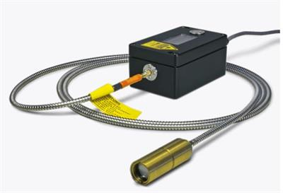 LumaSense IMPAC - Model IS 50/067-LO plus - Accurate Pyrometer with Fiber Optics for Non-contact Temperature Measurement