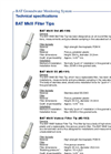 BAT MkIII Filter Tips - Specifications- Brochure