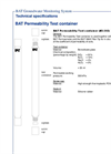 BAT Permeameter - Permeability Test Container - Brochure