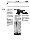 Bucyrus-Erie - Model 36L Series - Two Well Drill Machine - Brochure