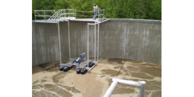 Aeration and mixing technologies for aerobic digester