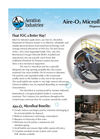 Aire-O2 Microfloat Dispersed Air Flotation (DAF) System - Product Sheet