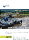 Aire-O2 Triton TR Series Process Aerator/Mixer - Product Sheet
