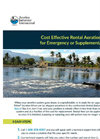 Rental and Supplemental Aeration - Brochure