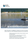 More than 40 years of experience treating Lagoon Wastewater Systems