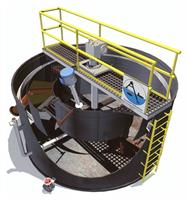 Aire-O2 - Model Microfloat DAF System - Remove 90% free-floating FOG, 60% TSS, and 30% BOD
