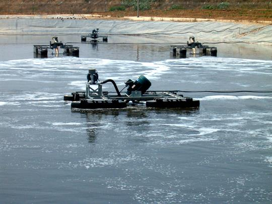 Lagoon Aeration Wastewater Treatment System