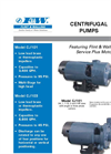 Model CJ103 - Centrifugal Pump Brochure