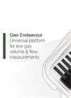 Bioprocess - Gas Endeavour - Automatic Gas Flow Measuring System - Brochure
