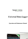 Bioprocess - Universal Data Logger - Operation and Maintenance Manual