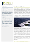 Urban Drainage & Flooding Brochure